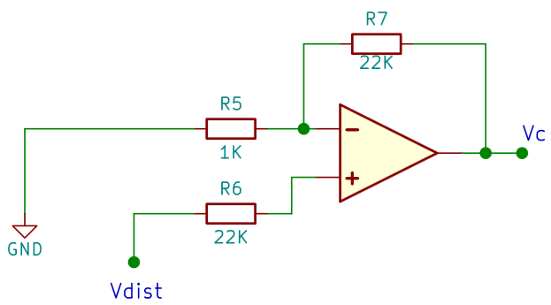 The inverting circuit without CB1