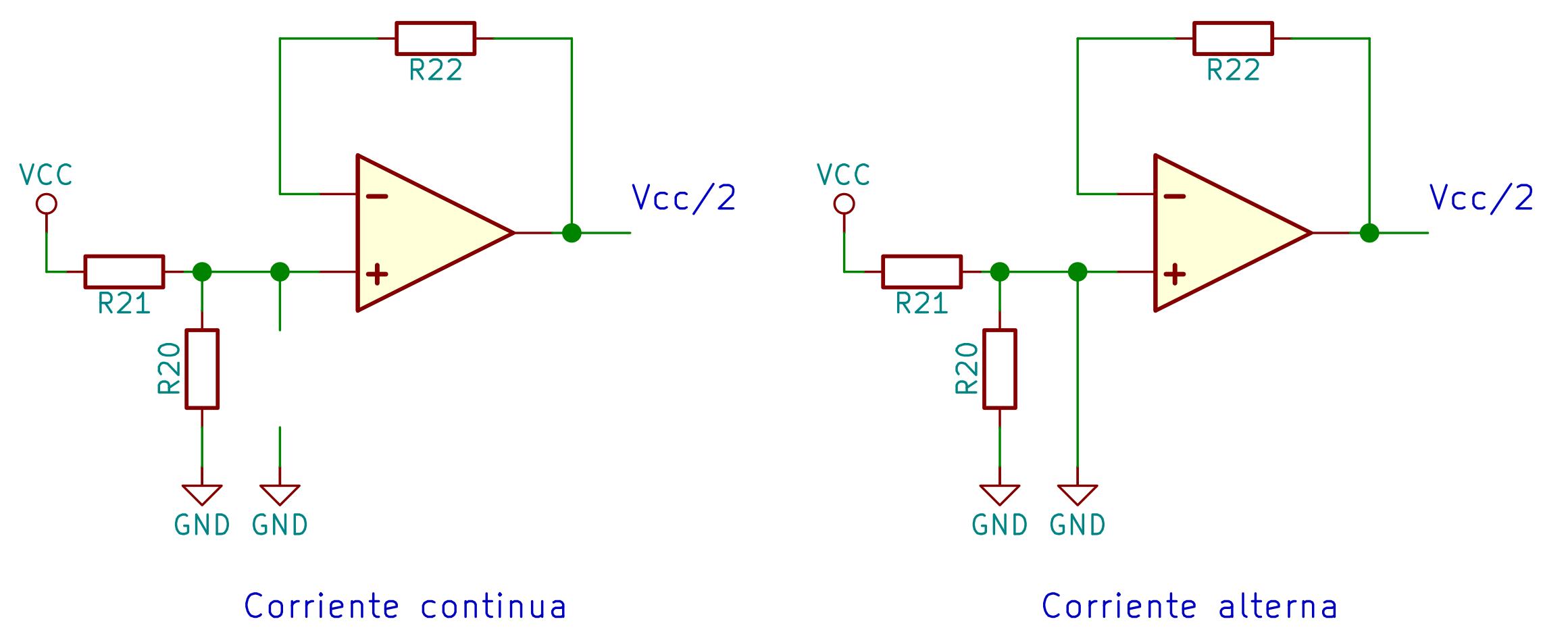 Equivalente condensador bypass
