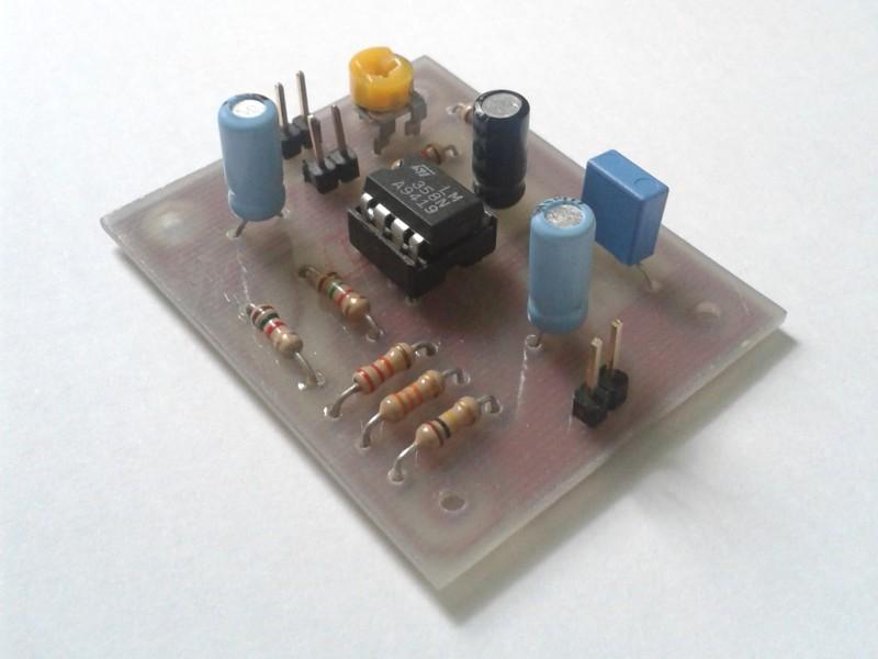 Realizzazione del circuito