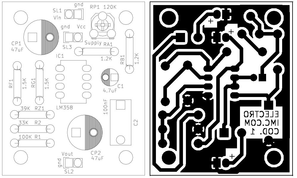 Serigrafia e circuito stampato