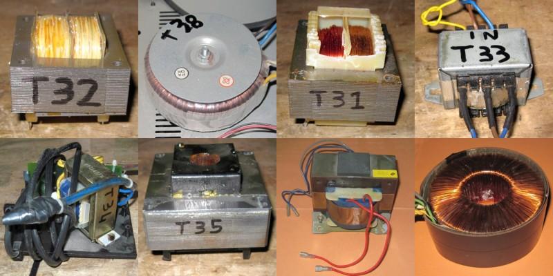 Alcuni trasformatori di esempio